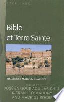 Bible Et Terre Sainte