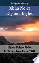 libro Biblia No.13 Español Inglés