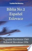 Biblia No.2 Español Eslovaco