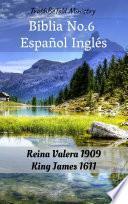 libro Biblia No.6 Español Inglés