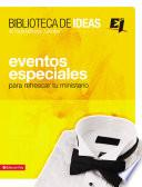 libro Biblioteca De Ideas: Eventos Especiales
