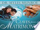 libro Claves Para El Matrimonio