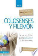 Comentario Bíblico Con Aplicación Nvi Colosenses Y Filemón