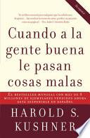 libro Cuando A La Gente Buena Le Pasan Cosas Malas
