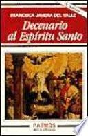 libro Decenario Al Espíritu Santo