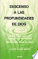 libro Descenso A Las Profundidades De Dios