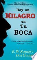 libro Hay Un Milagro En Tu Boca