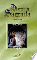 libro Historia Sagrada