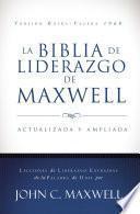 libro La Biblia De Liderazgo De Maxwell