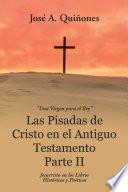 Las Pisadas De Cristo En El Antiguo Testamento