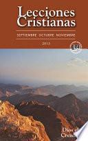 libro Lecciones Cristianas Libro Del Alumno Fall 2013