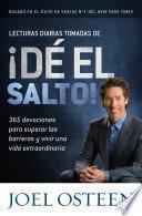 Lecturas Diarias Tomadas De ¡dé El Salto!