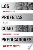 libro Los Profetas Como Predicadores