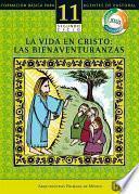 libro Manual 11. La Vida En Cristo: Las Bienaventuranzas