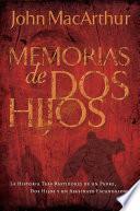 libro Memorias De Dos Hijos