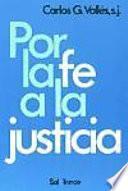 Por La Fe A La Justicia