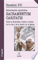 libro Sacramentum Caritatis
