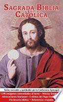 libro Sagrada Biblia Católica Iluminada