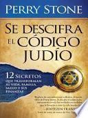 libro Se Descifra El Codigo Judio