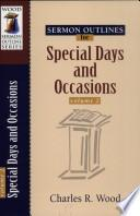 libro Special Days And Occasions