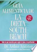 Guia Alimenticia De La Dieta South Beach