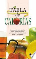 libro Tabla De Calorías