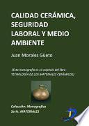 libro Calidad Cerámica, Seguridad Laboral Y Medioambiente