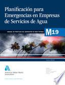 Planificaci¢n Ante Emergencias Para Empresas De Servicios De Agua