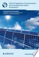 libro Replanteo Y Funcionamiento De Instalaciones Solares Fotovoltáicas. Enae0108