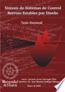 libro Síntesis De Sistemas De Control Borroso Estables Por Diseño