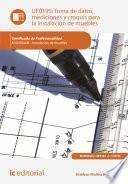 libro Toma De Datos, Mediciones Y Croquis Para La Instalación De Muebles. Mamr0408