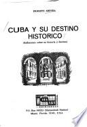 libro Cuba Y Su Destino Histórico