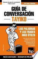 Guia De Conversacion Espanol Tayiko Y Mini Diccionario De 250 Palabras