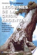 Lecciones De La Crisis Argentina
