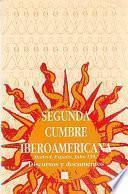 libro Segunda Cumbre Iberoamericana, Madrid, España, 1992